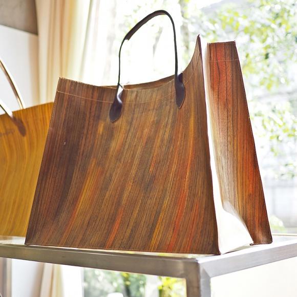 カタチが自由自在のアルミ箔入り紙袋、そして…:MATATABI(マタタビ)