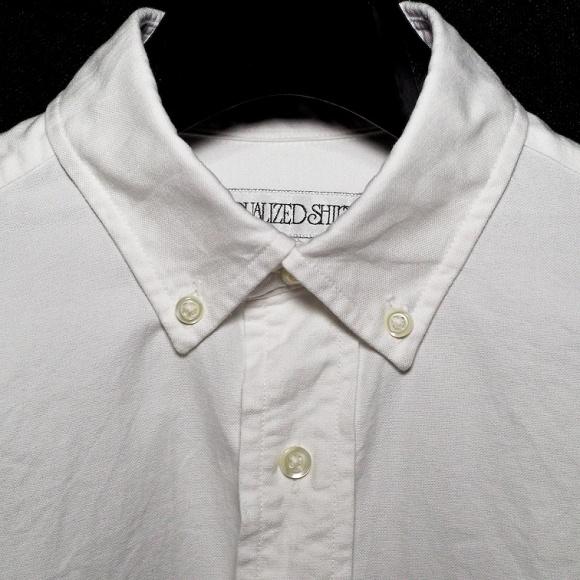 インディビジュアライズドシャツ:カスタムメイド&自分でボタン付け替え
