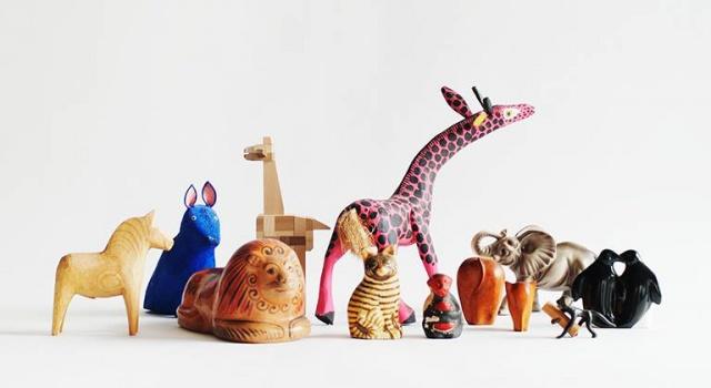 動物オブジェを蒐めた展示会