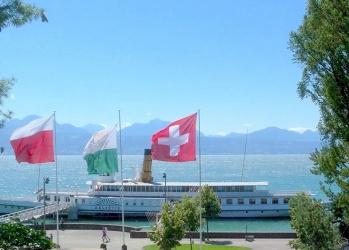 スイス、山々や湖と優れたデザインが響き合う国。(前編)
