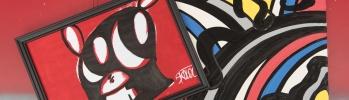 大きな瞳がチャームポイント! 原宿の人気キャラ「スコロクト」がアートショップになりました。