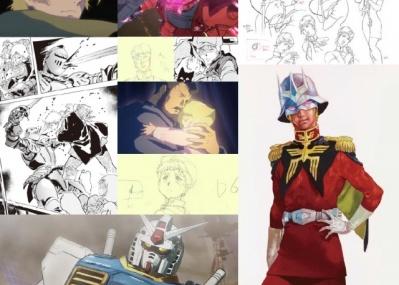 ガンダム卒業生の大人に贈る! 『機動戦士ガンダム THE ORIGIN』の全貌がアート展で明らかに!