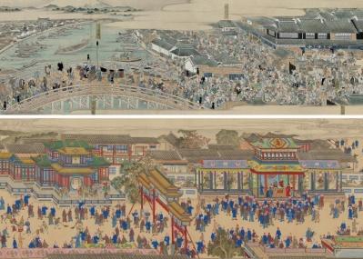 """「江戸と北京」展で、18世紀のふたつの都市文化の""""くらべっこ""""をしてみませんか?"""