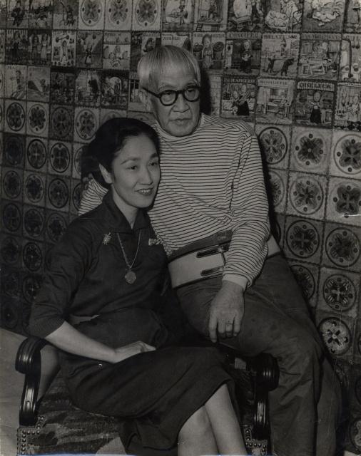 Pen Online                                                        会期もわずか! 本来の姿を取り戻した藤田嗣治の名作『舞踏会の前』を見に行きましょう。