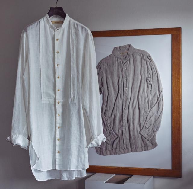 スズキタカユキの麻シャツと、彼が語る麻素材の面白さ、着こなし提案とは?