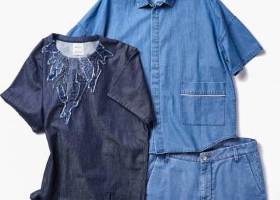 デニム素材で旬のスタイルがグッと着やすく! 「ボブソン」の次世代ブランドの洒落心にヤラれます。