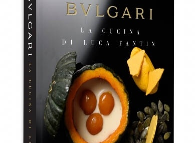 2年の歳月を経て完成した、ブルガリ初のアートな 料理本「LA CUCINA DI LUCA FANTIN」が完成!