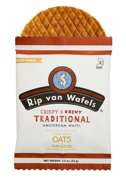 熱々コーヒーで相性抜群!「リップヴァンワッフル」でオランダの伝統菓子をお試しあれ。