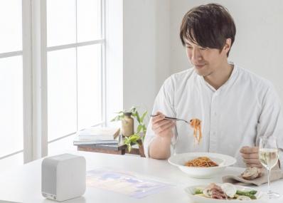 料理研究家コウケンテツがソニーの超短焦点プロジェクター「LSPX -P1」でつくる、クリエイティビティあふれる空間。