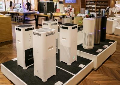 なかなか換気ができない季節に、お薦めの空気清浄機を教えてください。