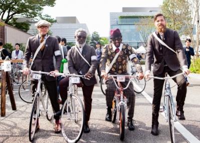ツイード素材でキメて自転車で街走りする、「ツイードラン 東京」に参加しませんか?