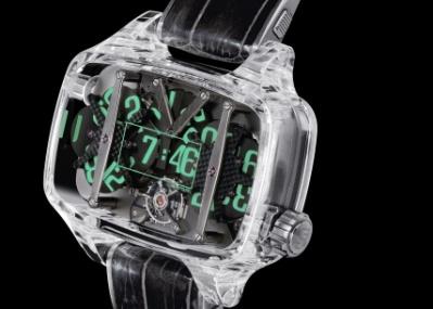 クライマックスは1分ごとにやってくる!  透明なケースの中で数字が踊る、驚異の10日間巻きモデル